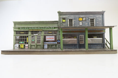Allan Downes O Gauge American Style Store, Ollies Hardware & Supplies