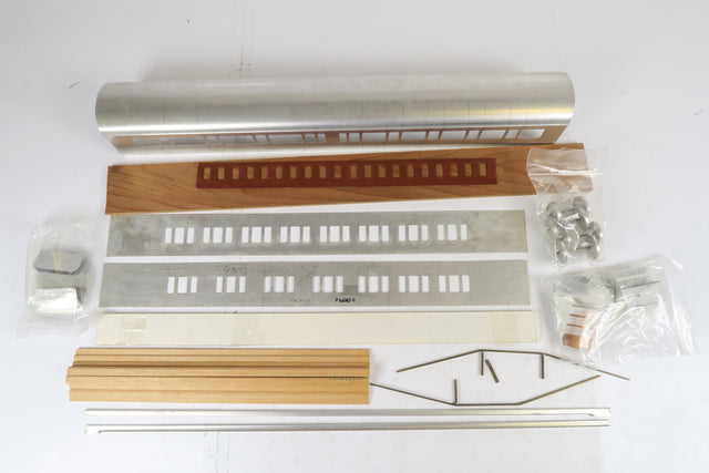 Westdale 7mm Finescale O Gauge GWR 70' Bow-Ended 1st/3rd Composite Coach Kit