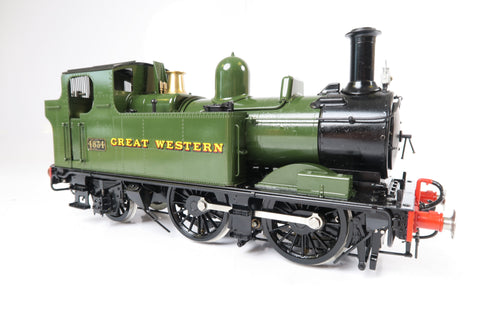 Bowande Gauge 1 1:32 GWR 14xx '4834', Live Steam