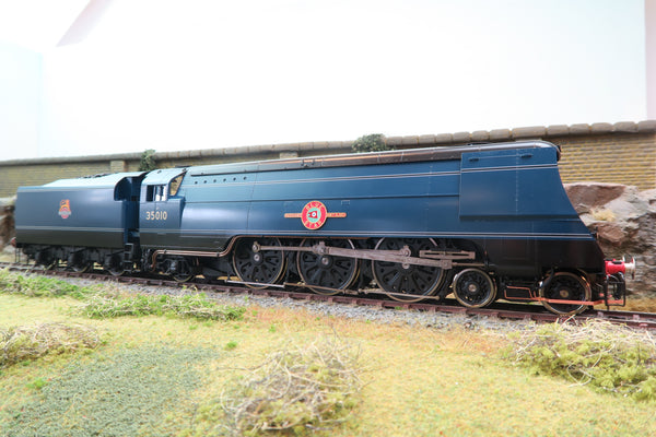 Golden Age Models 7mm Finescale O Gauge BR Blue Merchant Navy 4-6-2 '35010' 'Blue Star' DCC Sound & Smoke!