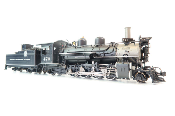 Mountain Model Imports MMI ON3 Scale DC1013-1 D&RGW K-28 2-8-2 '470'