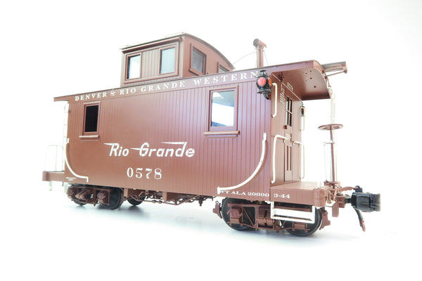 Accucraft Trains 1:32 Scale Gauge 1 AC83-122 D&RG Caboose '0578'