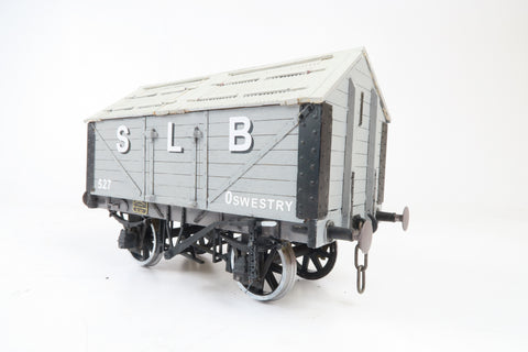 Gauge 1 10mm Kit Built GWR Salt Wagon 'SLB' '527'