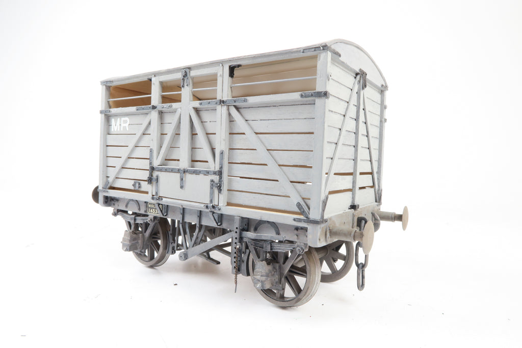 Gauge 1 10mm Kit Built MR Cattle Wagon '14534'