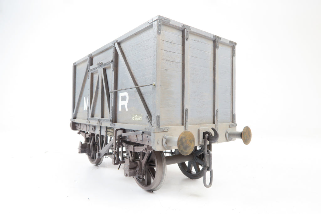 Gauge 1 10mm Kit Built MR 8T Coal Wagon