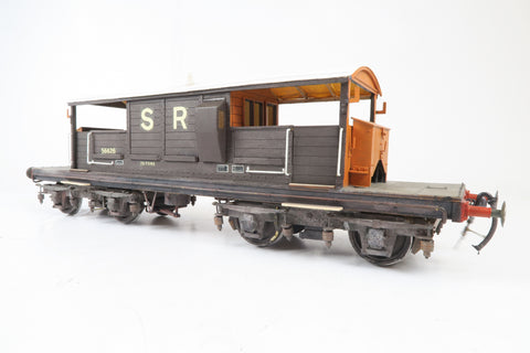 Gauge 1 10mm Kit Built SR Queen Mary Brake Van '56626'