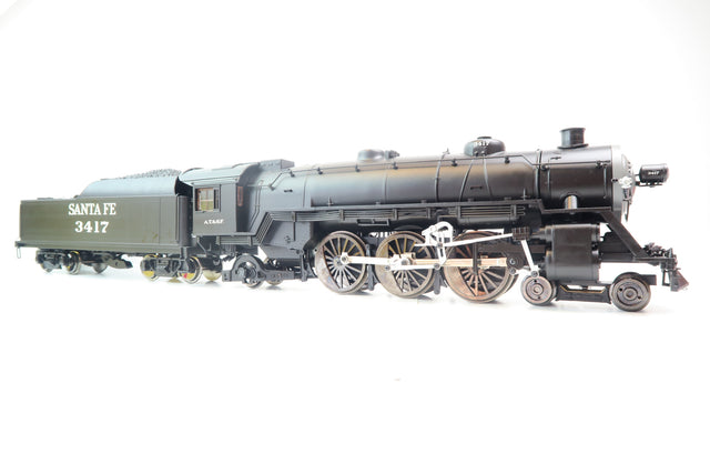 Aristocraft 1:29 Gauge 1 Santa Fe Pacific 4-6-2 Steam Locomotive '3417' with Sound!