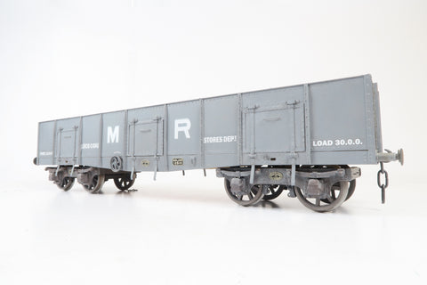 Gauge 1 10mm Kit Built MR Coal Load Bogie Wagon '12510'
