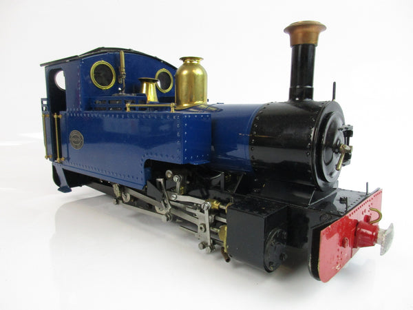 Roundhouse Live Steam 16mm Remote Controlled 0-6-0 'Silver Lady' (Blue)