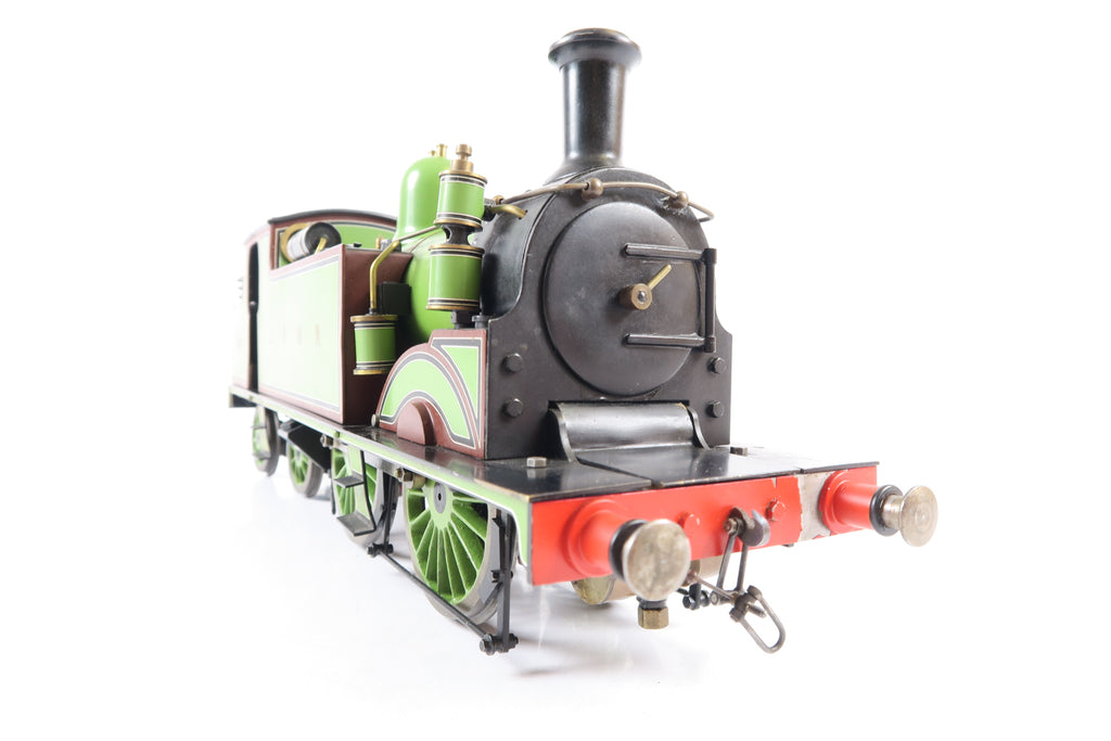 Scratch Built Gauge 1 1:32 LSWR Green M7 Class 0-4-4 Tank Loco, Spirit Fired Live Steam