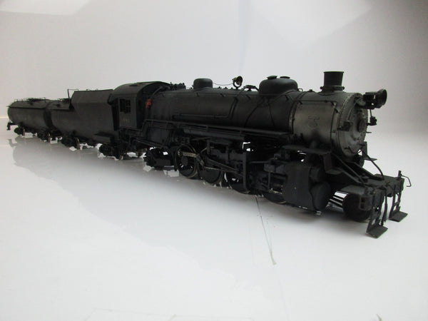 "Westside Model Company O Gauge B&O Q-4b 2-8-2 ""481"" Painted and Weathered!"