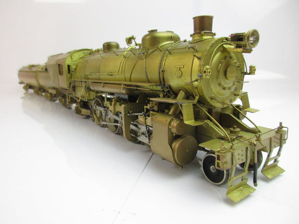 Westside Model Company O Gauge B&O Q-4b 2-8-2 Plain Brass