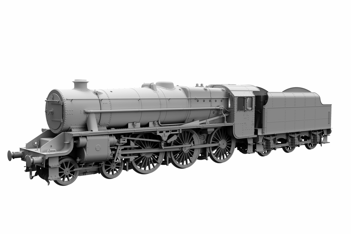 "Ellis Clark Trains E71-1-1A Finescale O Gauge Stanier Class 5 4-6-0 ""Black 5"", LMS Lined, '5225' with Welded Tender (pre-order)"