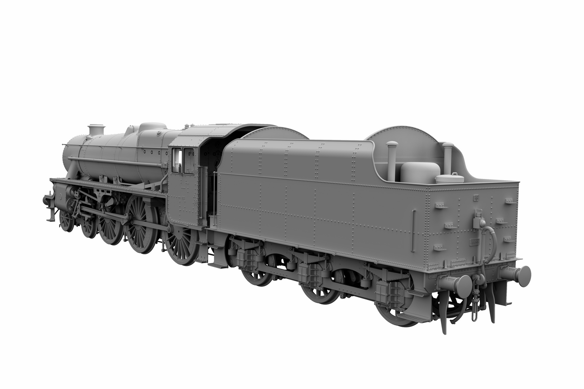 "Ellis Clark Trains E71-1-3A Finescale O Gauge Stanier Class 5 4-6-0 ""Black 5"", Early BR Lined, '45344' with Welded Tender (pre-order)"