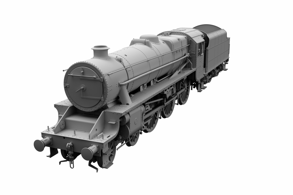 "Ellis Clark Trains E71-1-3RU Finescale O Gauge Stanier Class 5 4-6-0 ""Black 5"", Early BR Lined, Un-numbered with Riveted Tender (pre-order)"