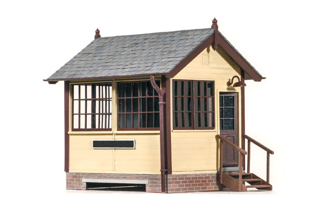 Peco O Gauge Lineside LK-709 Lineside Ground Signal Box - Wood, kit