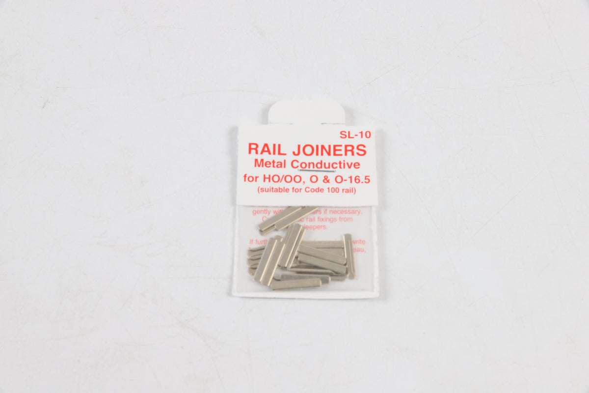 Peco 7mm Finescale O Gauge SL-10 Pack of 24 Rail Joiners