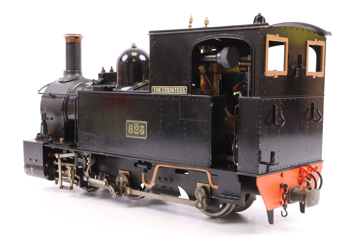 Accucraft 16mm (32mm Gauge) Live Steam 'The Countess' '823', with Radio Control