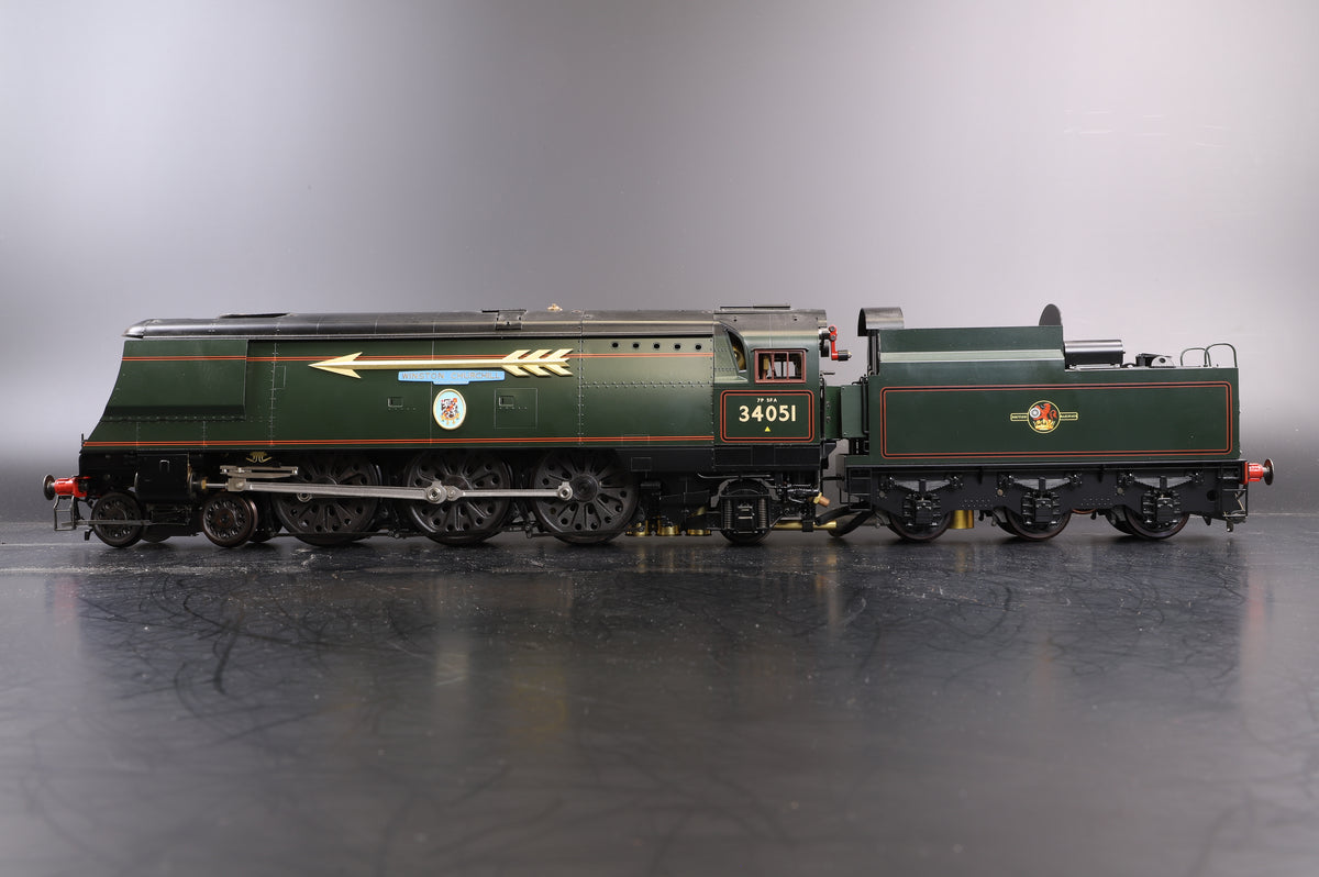 Aster Gauge 1 Live Steam Battle of Britain Class '34051' 'Winston Churchill'