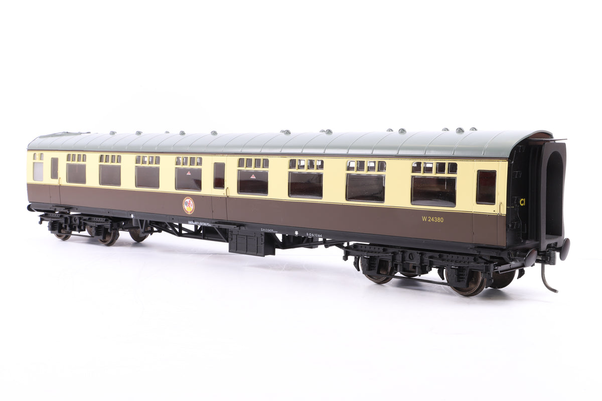 The Gauge 1 Model Company 1:32 Gauge 1 BR Choc & Cream Mk1 SK 'W24380'