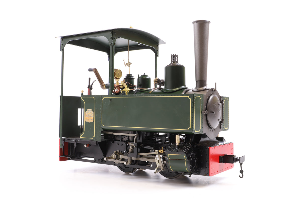 Accucraft 7/8ths Scale (32mm Gauge) Gas Fired Live Steam 'Decauville', Green