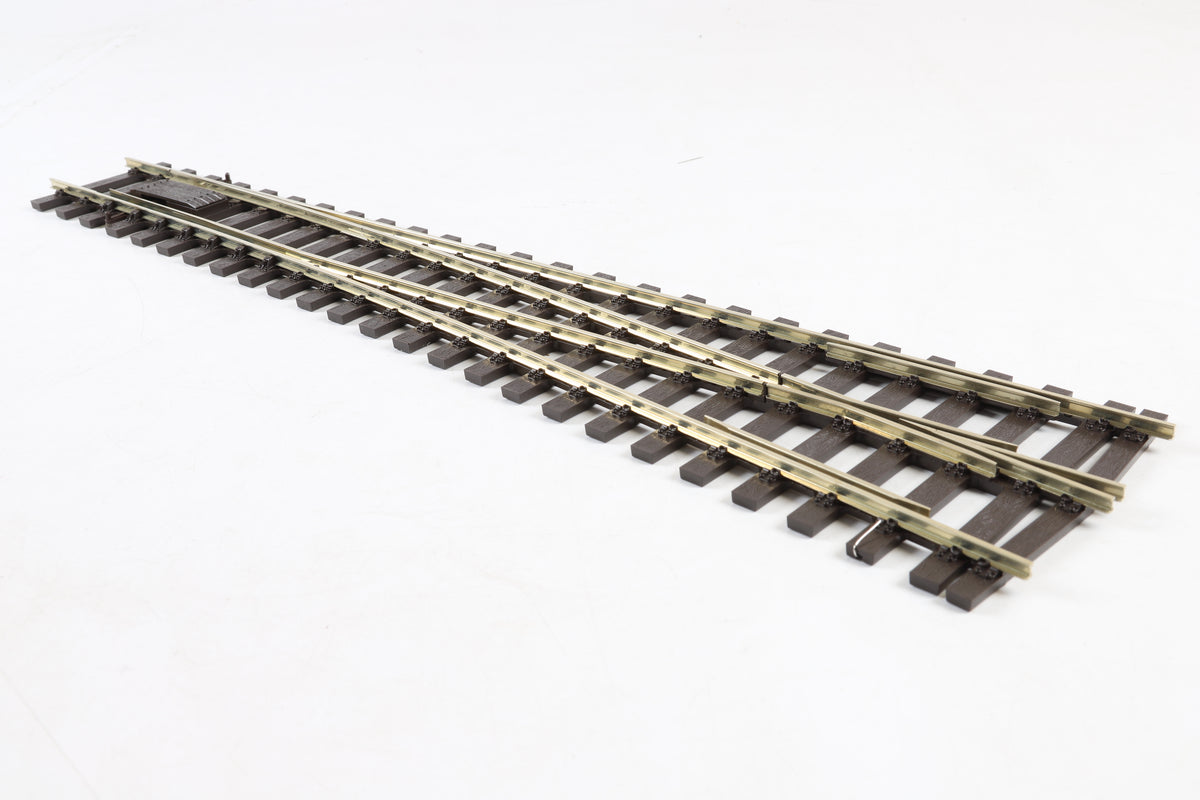 Peco 7mm Finescale O Gauge SL-E791FB (FLAT BOTTOM) Medium Radius Turnout R/H