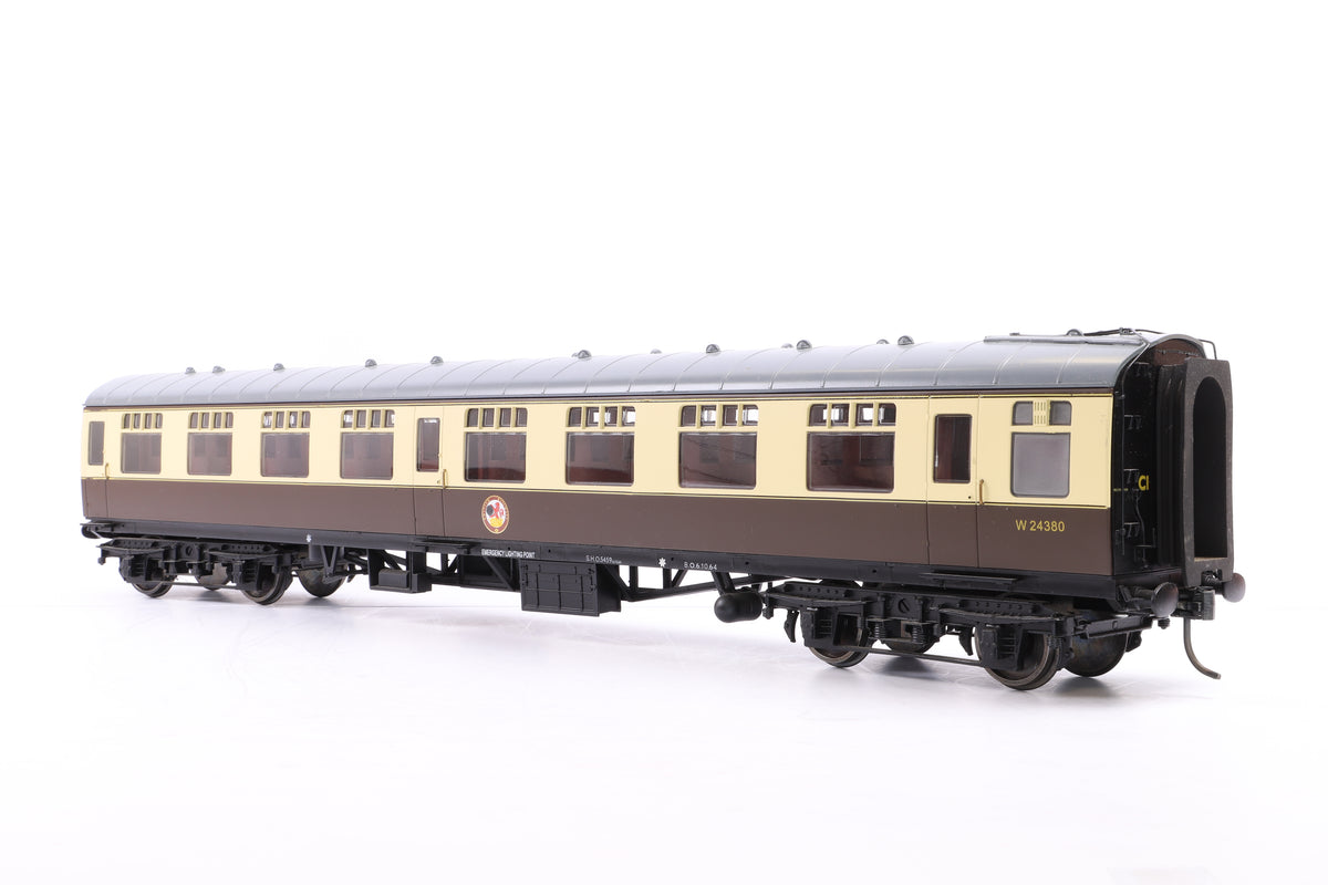 The Gauge 1 Model Company 1:32 Gauge 1 BR Choc & Cream Mk1 SK ' W24747'