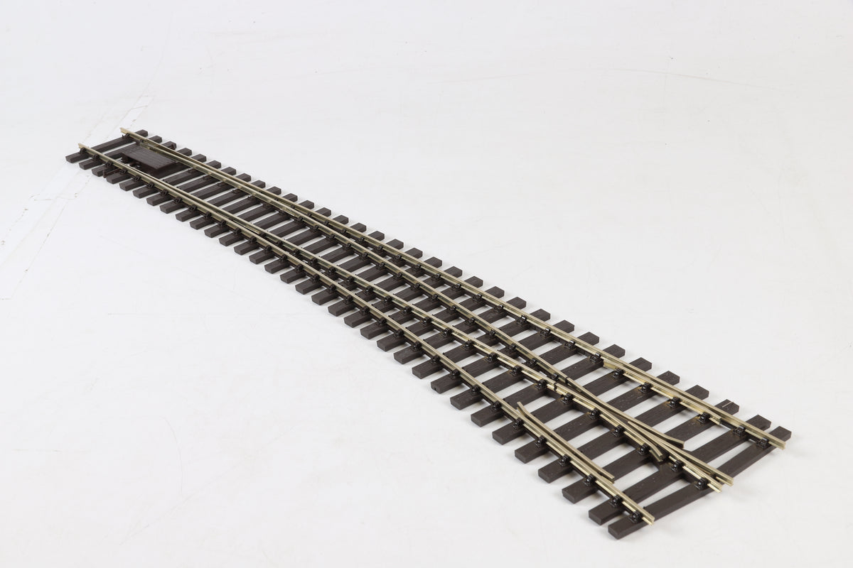 Peco 7mm Finescale O Gauge SL-E786BH Curved Turnout R/H
