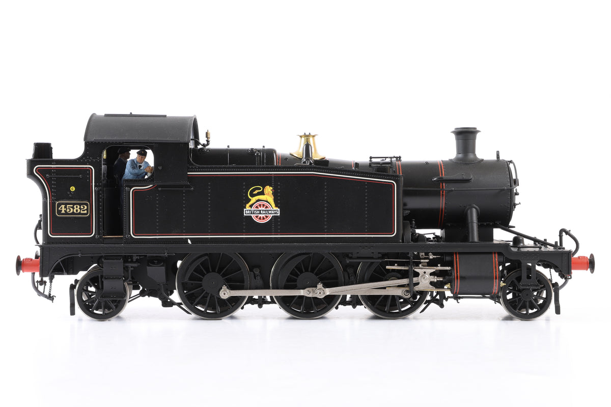 Masterpiece Models Scale 7 BR Lined Black 45xx '4582', DCC Sound