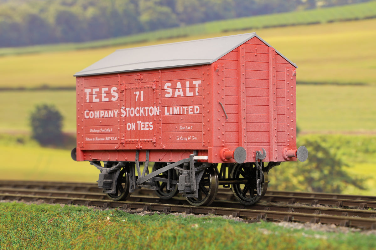 Dapol 7F-018-003W O Gauge Salt Van Tees Salt '71' Weathered