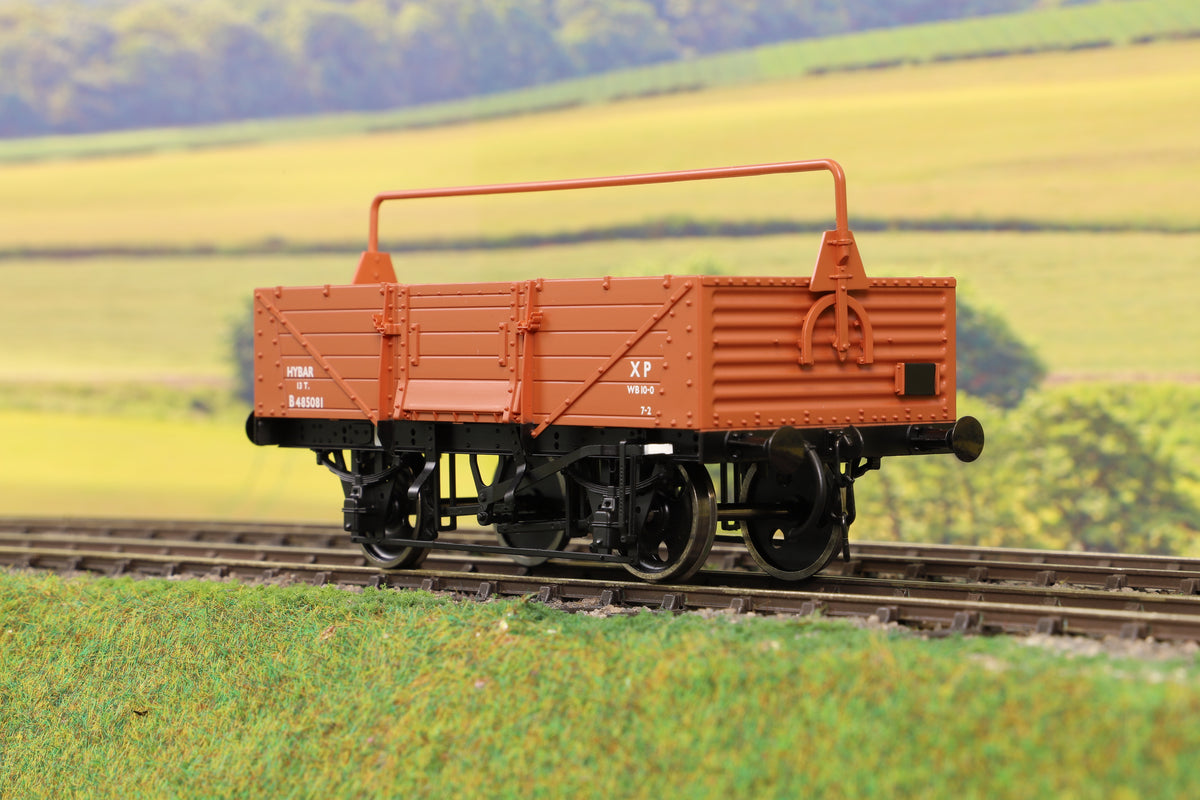 Dapol 7F-053-009 O Gauge 5 Plank Open High Bar Bauxite B485081
