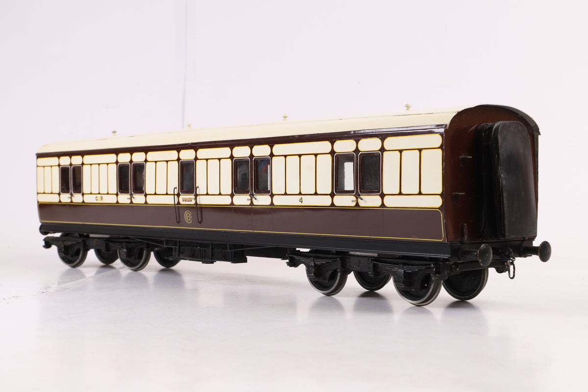 10mm Gauge 1 Kit/Scratch Built Caledonian Railway 50ft Full Brake '4'