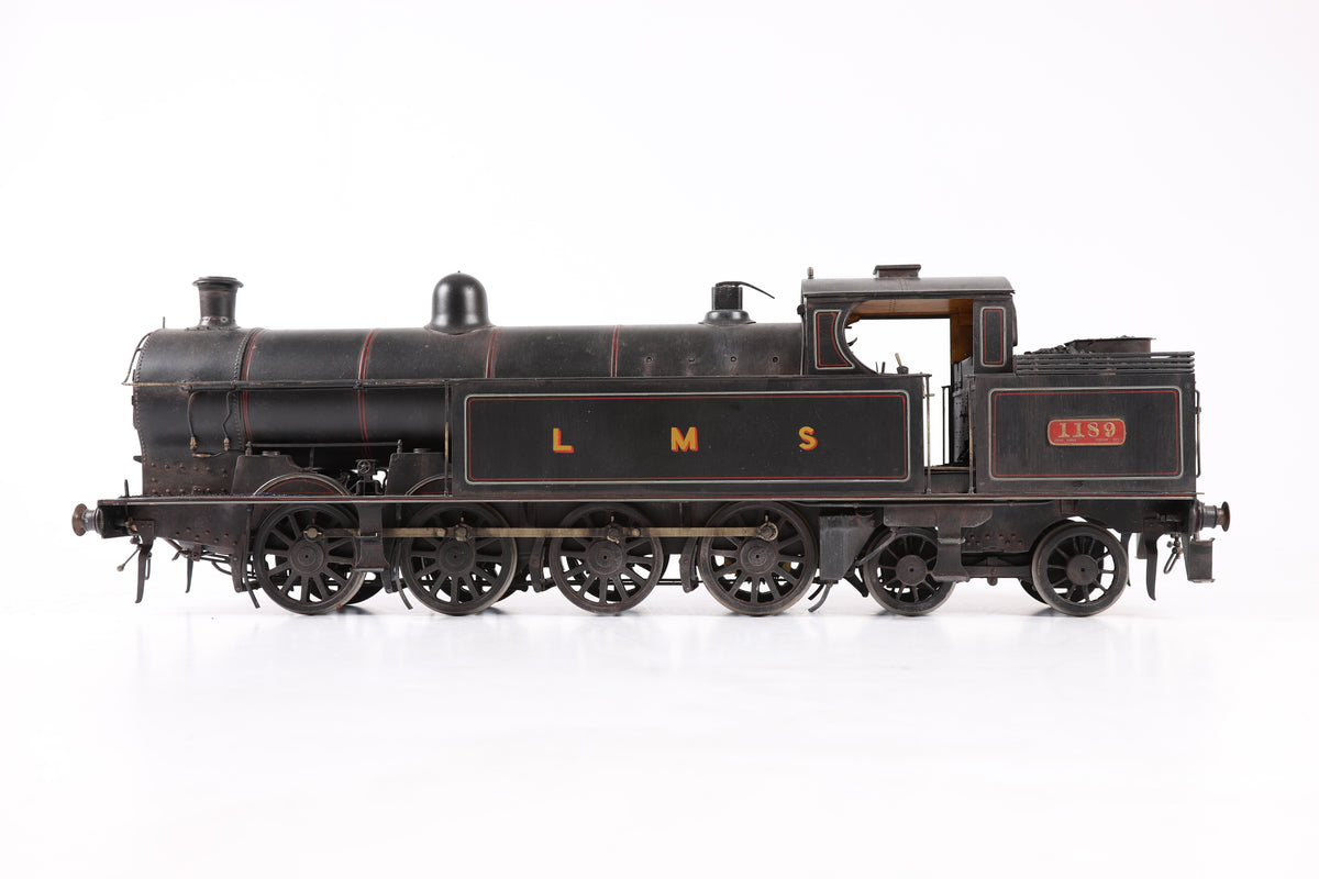 Geoff Holt 10mm Gauge 1 LMS 0-8-4T Beames Side Tank '1189', Weathered