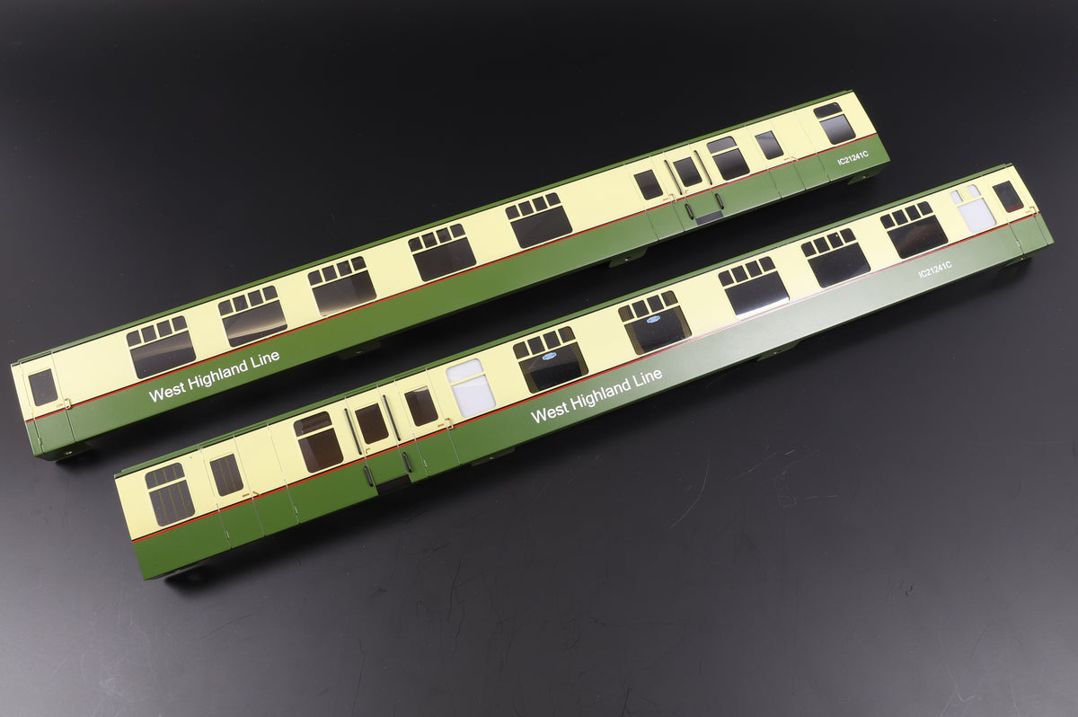 Darstaed Pair of Finescale O Gauge Mk1 Decorated Brass Coach Sides, Various Liveries/Coach Types