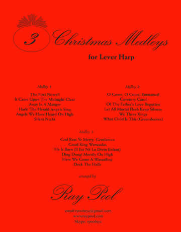 3 Christmas Medleys for Lever Harps