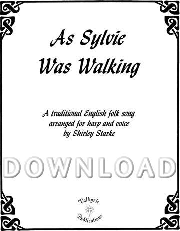 As Sylvie Was Walking - Digital Download