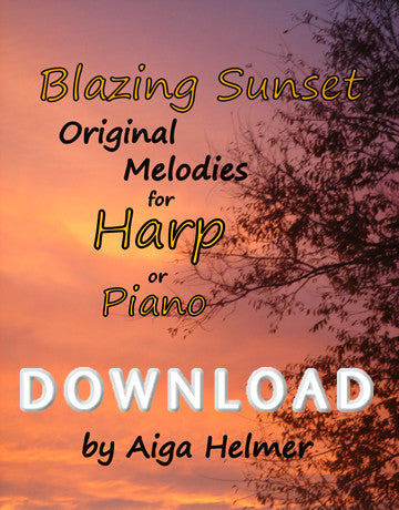 Blazing Sunset - Digital Download