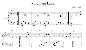 Mountain Lake - Digital Download