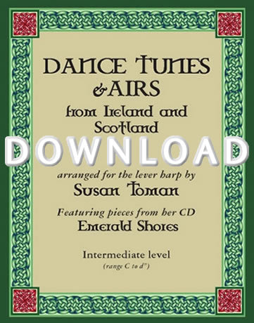 Dance Tunes and Airs from Ireland and Scotland - Digital Download