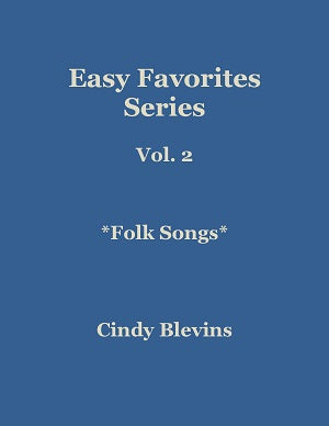 Easy Favorites for Harp Vol. 2, Folk Songs - Digital Download