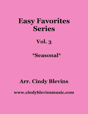 Easy Favorites for Harp Vol. 3, Seasonal