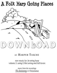 A Folk Harp Going Places - Digital Download