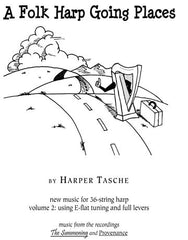 A Folk Harp Going Places