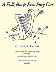 A Folk Harp Reaching Out