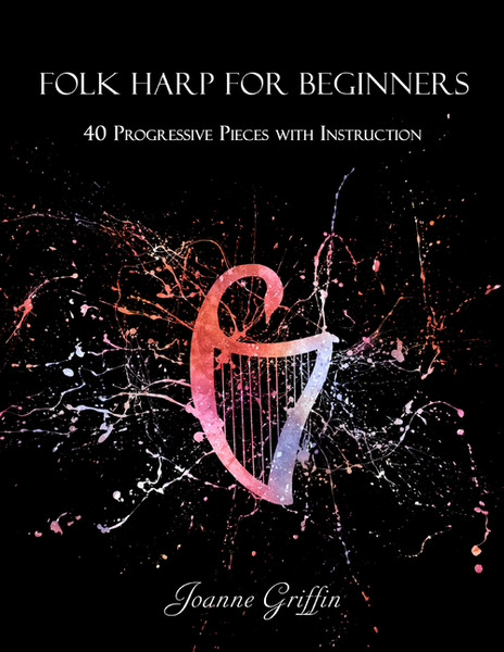 Folk harp for Beginners - Digital Download