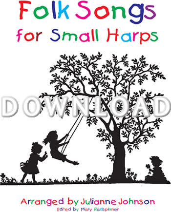 Folk Songs for Small Harps - Digital Download