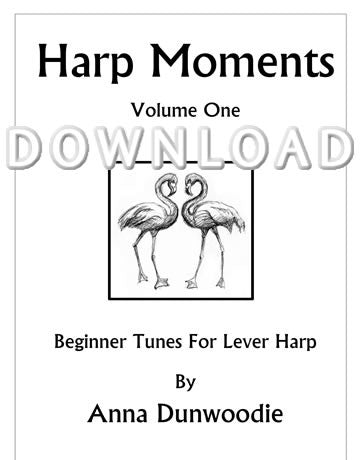 Harp Moments - Book 1 - Digital Download
