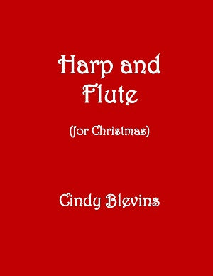 Harp and Flute (for Christmas) - Digital Download