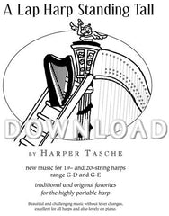 A Lap Harp Standing Tall - Digital Download
