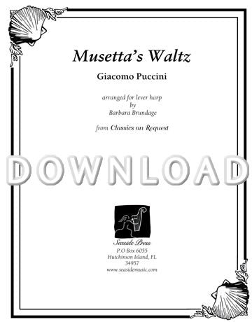 Musetta's Waltz  - Digital Download